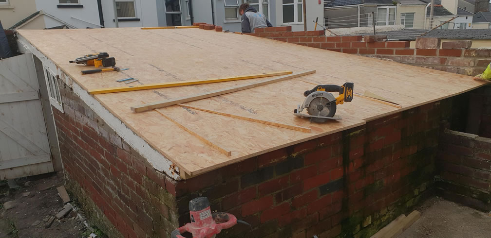Flat Roofing in Plymouth